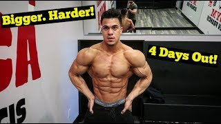 4 Days Out | EPIC Chest Workout & Physique Update Ft @Brolic_7 #LFTeam