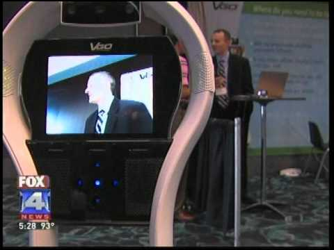 VGo telepresence solution at SKC's 2011 Technology Summit