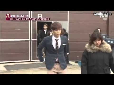 EXO K AND M @DISNEY LAND [Lay & D.O dance  مترجمه