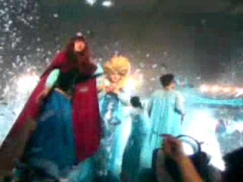 Super Show 6 in Indonesia (SS6INA) Frozen Cosplay + Rokuggo (150503)