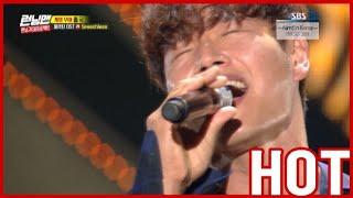 [HOT CLIPS] [RUNNINGMAN]  | RUNNING9 Fan Meeting : Kim Jong Kook is Singing 'Speechless' (ENG SUB)