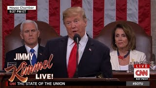 Jimmy Kimmel Responds to Trump's State of the Union