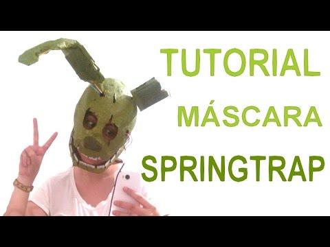 La m 225 scara de springtrap fnaf 3 musica movil musicamoviles com