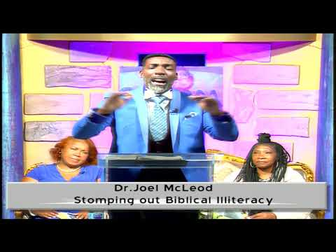 Stomping out Biblical Illiteracy Dr. Joel McLeod 11-23-2020