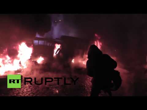 Ukraine: Kiev rioters fan the flames of protest