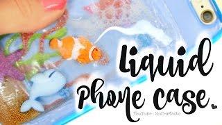 DIY Liquid Phone Case – Fish Tank, Aquarium, Ocean