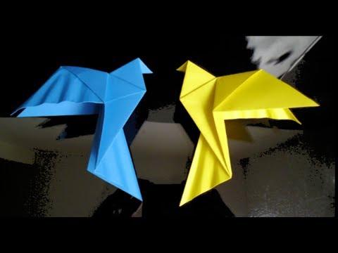 HD Origami Dove Tutorial
