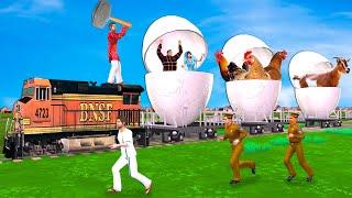 अंडा ट्रेन चोर डकैती Egg Train Thief Robbery Comedy Video हिंदी कहानियां Hindi Kahaniya Comedy Video
