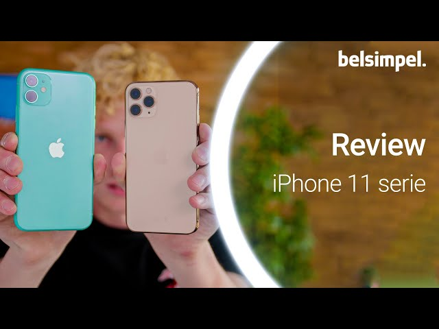 Belsimpel-productvideo voor de Apple iPhone 11 Pro Max 64GB Black