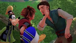 Kingdom Hearts III – LUCCA 2018 Tangled Trailer