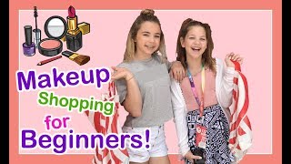SHOPPING FOR MAKEUP WITH ANNIE ROSE AT TARGET  | *make up starter kit for tweens* | Flippin' Katie