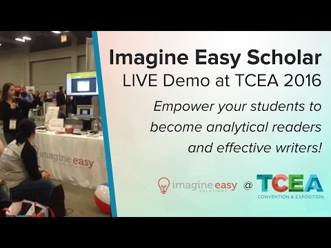 Imagine Easy Scholar Demo at TCEA 2016