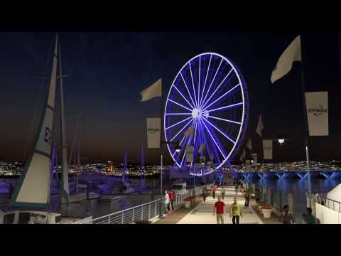 National Harbor Pier - Virtual Tour Animation
