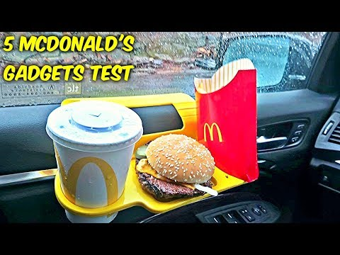 5 McDonald's Gadgets put to the Test!