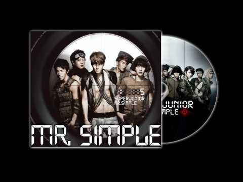 Super Junior - Mr. Simple (Audio)