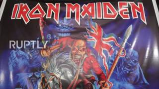 Bolivia: Rocker parents name baby 'Iron Maiden'