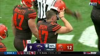 Browns Game-Winning Field Goal vs. Ravens | NFL Highlights
