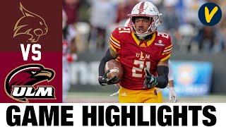 Texas State vs ULM Highlights | Week 3 College Football Highlights | 2020 College Football