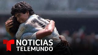 Los mejores goles de Diego Maradona narrados por él mismo | Noticias Telemundo