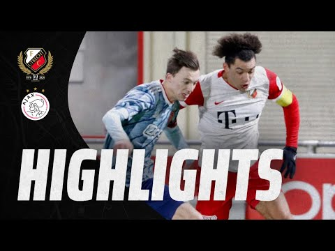 HIGHLIGHTS | Beloften verliezen nipt van Jong Ajax