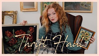 Great 70's inspired Thrift Haul | Clothes & Home Decor