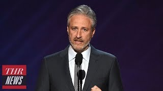 "Jon Stewart on Trump's Charlottesville Reaction: ""He Is a Terrible Person"" | THR News"