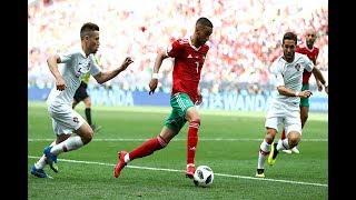 انبهار الاعلام المصري بقوة المنتخب المغربي أمام البرتغال - شكرا اسود ...