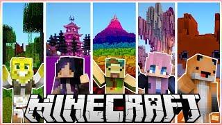 I Made 5 Custom Youtuber Biomes!