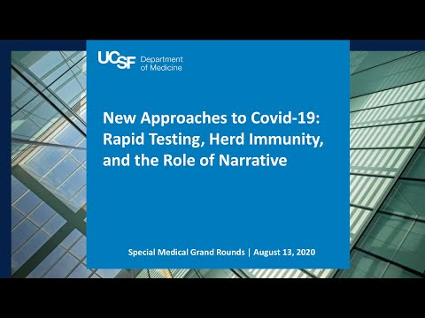 New Approaches to Covid-19: Rapid Testing, Herd Immunity, and the Role of Narrative
