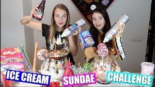ICE CREAM SUNDAE CHALLENGE! | EEN MEGA IJSCOUPE MAKEN!