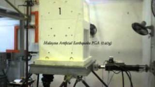 HC Precast System @ Malaysia's Artificial Earthquake [Shake Table Test]