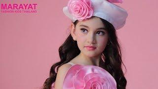 Marayat Fashion Kids   Charlee Pearl Waite : The winner Marayat Kid Model Contest.
