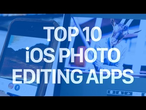 Top 10 iOS Photo Editing Apps