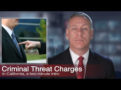 323-464-6453 More criminal threats legal info: http://www.losangelescriminallawyer.pro/criminal-threats.html    Call for a free consultation with the Kraut Law Group 24 hours-a-day, seven days-a-week, for help with your criminal threats legal case....
