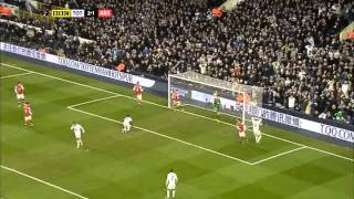 Tottenham Hotspur vs  Arsenal Video Highlights  03rd Mar 13