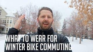What to Wear for Winter Bike Commuting | Athletic Wear vs Casual Wear