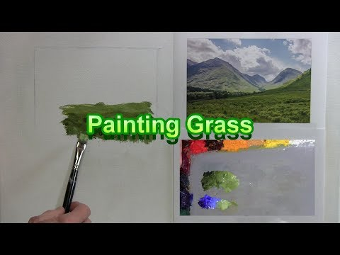 Quick Tip 201 - Painting Grass