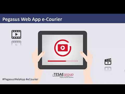 Pegasus e-Courier Web App