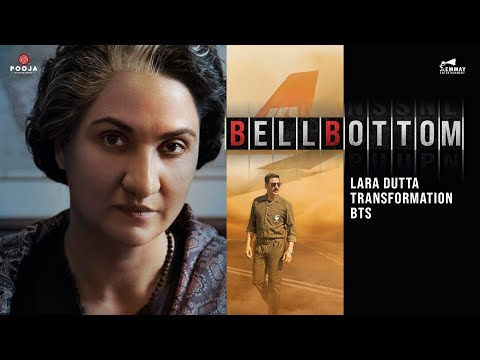 BTS video: Lara Dutta's transformation as Indira Gandhi for Bell Bottom movie