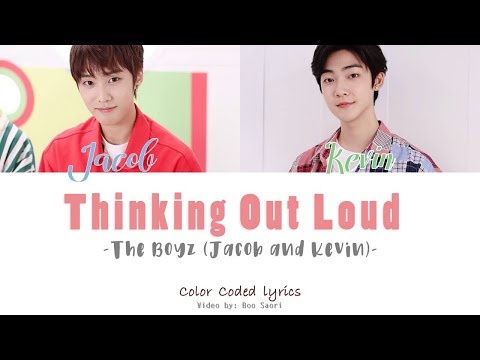 Jacob & Kevin (THE BOYZ) – Thinking Out Loud (Cover) [Color Coded Lyrics]