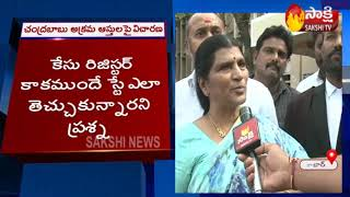 Face to face with Lakshmi Parvathi over Chandrababu's asse..