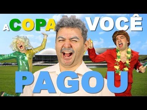 Baixar A COPA VOCÊ PAGOU | Paródia We Are One - Tema da Copa 2014