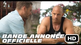 Fast & furious 6 :  bande-annonce VF