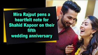Mira Rajput pens a heartfelt note for Shahid Kapoor on the..