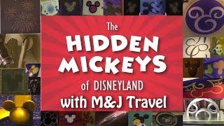 Hidden Mickey Hunt! Disneyland Hotel and Downtown Disney.