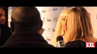 Taylor Swift Shares Her Thoughts Nicki Minaj At Billboard Magazine's WOM (May 2012)