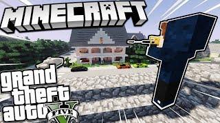 Minecraft GTA 5 - Tập 28 | Giải Cứu Thư Ký Của Ông Mafia Khỏi Đại Ca Tèo !!