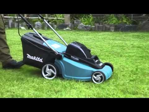 Makita DLM380PF4 18v x 2 Lawnmower Kit 4 x BL1830 + DC18RD Charger