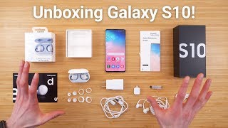 Galaxy S10 Unboxing - What's Included!