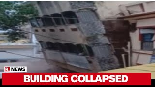 Three-Storey building collapses in Maharashtra..